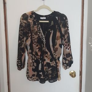 Calvin Klein watercolour blouse